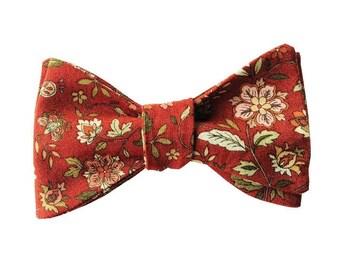 The Scarlett (Self tie cotton bow tie)
