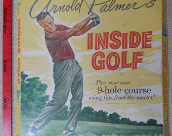 Arnold Palmer Inside Golf game pieces