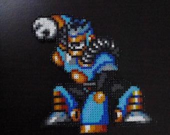 Figurine Burst man, Mega Man 7 collection