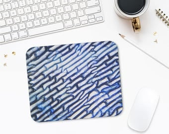 Cool Mousepad, Photomicrography Art, Abstract Mousepad, Office Gifts, Unique Mouse Pad, Computer Accessories, Gift For Him