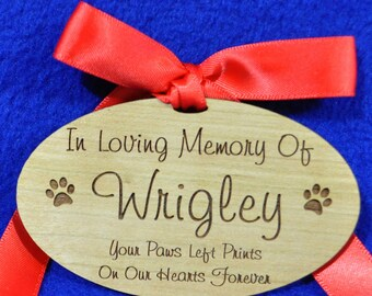 Pet Loss Gift ~ In Loving Memory ~ Dog Loss ~ Cat Loss ~ Sympathy Gift For Pet ~ Pet Sympathy Gift ~ Pet Loss ~ Christmas Ornaments ~ Grief