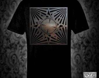 Gateways T-shirt, Hellraiser horror lament cenobite pinhead steelgohst