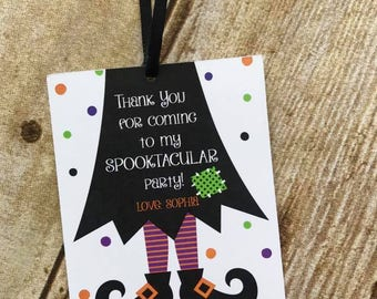 Witch Favor Tags