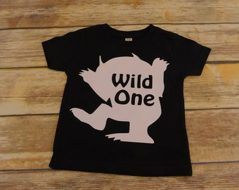 Wild One shirt - wild one birthday shirt - Where the wild things are - Wild things shirt - I'll eat you Up - I love you so -King of all wild
