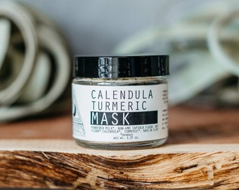 Calendula Turmeric Mask