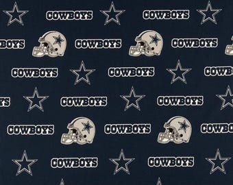 Dallas Cowboys Fabric, NFL Fabric, Fabric by the Yard, Football Fabric, Cotton Fabric, NFL cotton fabric, cowboys fabric, team fabric