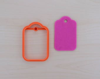 Gift Tag Cookie Cutter 102
