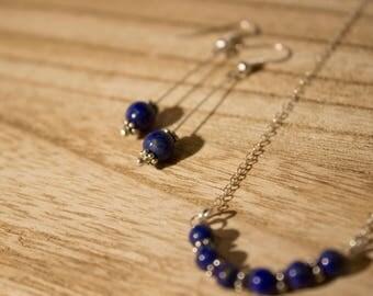 Lovely Lapis lazuli set