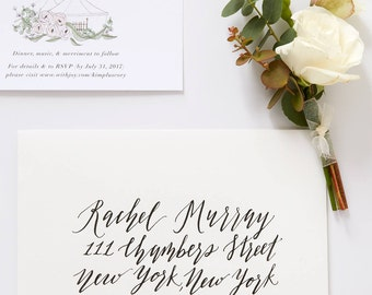 Guest Addressed Envelope in Calligraphy | Weddings & Special Events