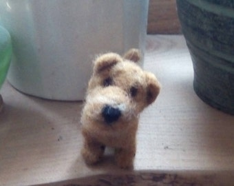 Needle Felted Norfolk Terrier miniature