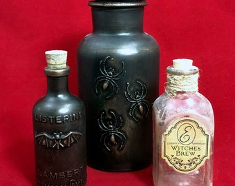 Apothecary bottles group A