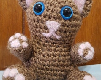 Crochet Cat Stuffed Animal