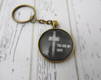 You Are My Hope Keychain