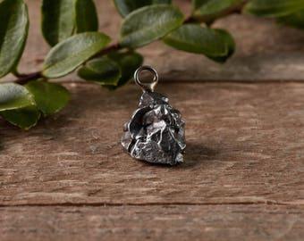 Meteor jewelry etsy small meteorite pendant meteorite pendant space jewelry meteorite jewelry space rock aloadofball Image collections