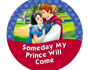 Someday My Prince Will Come – Snow White & Prince Charming (options)