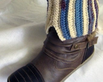 Gift for teen Warm winter warmers Rustic accessory For best mom Knit fashion Leg warmer Boot accessories Boot socks Boot cuff Rustic fashion