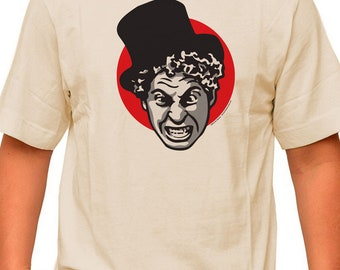 HARPO! pre shrunk 100% cotton, short sleeve t-shirt - Marx Bros.  Film Comedy