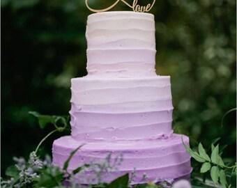 infinity love cake topper wedding cake topper personalized cake topper rustic wedding cake topper custom cake topper wood cake topper
