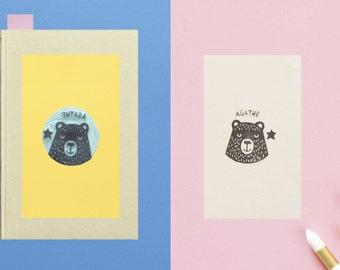 Bookplate Bear