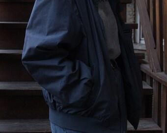 Grey/Blue Members Only Jacket