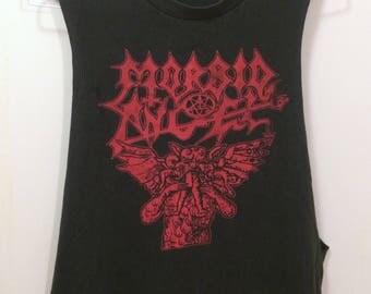 Morbid Angel Cutoff Satan shirt Death Metal