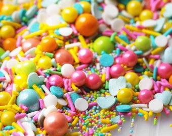 Summer of 69' Sprinkle Blend, Retro Sprinkles, Pastel Sprinkles, Crunchy Sprinkles, Easter Sprinkles, Fancy Sprinkles, Sprinkle Blend Mix