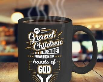 Grandparents Coffee Mug - Grandchildren Coffee Mug - Gift for Grandmother - Gift for Grandfather - Nana Coffee Mug - Grandpa Coffee Mug