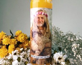Saint Jeremy Corbyn Prayer Candle