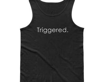 Triggered Dank Memes Tank Top Shirt For Meme Lords and gamers