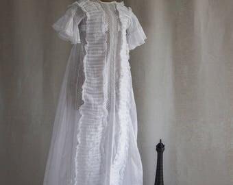 Vintage Christening Gown P1012