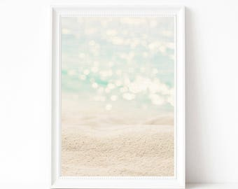 Instant download beach wall art print, printable digital download, ocean wall art print, printable poster, home decor, housewarming gift