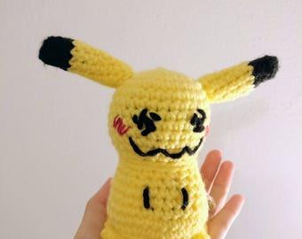 Mimikyu Pokemon Sun and Moon Plush/Plushie Stuffed Animal Doll Toy