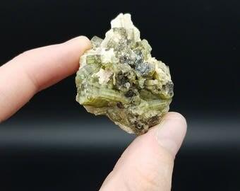 Green tourmaline, tourmaline specimen, mineral specimen, crystal specimen, rocks and minerals, tourmaline crystal, raw tourmaline, natural t