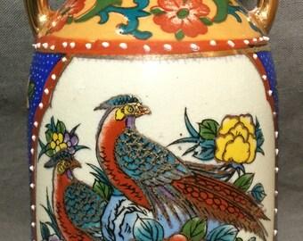 """Vintage Japanese Vase - 6"""" Tall"""