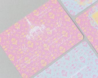 Opulence Pink & Blue RSVP