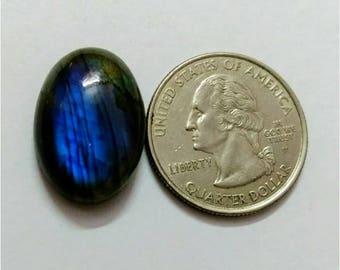 22.05 x 15.40 mm,Ovel Shape Labradorite Cobochon/Blue Flash/wire wrap stone/Super Shiny/Pendant Cabochon/Semi Precious /, AAA labradorite