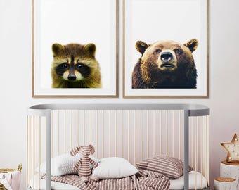 Bear wall decor | Etsy