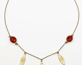 Ravenna gilded necklace