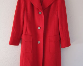 Vintage KM Spezial Womens Wool Coat