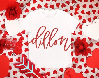 Kids Valentines Shirt, Girls Valentines Shirt, Boys Valentines Shirt, Valentines Day Shirt, Personalized Shirt, Personalized Valentines Day