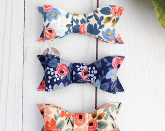 Rifle Paper Co Bows-Rifle Paper Co baby bow headbands-Rifle Paper Co-Baby bow headbands-Baby headbands-Baby bows