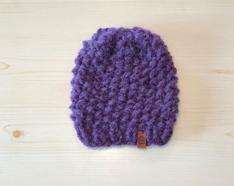 chunky eggplant knit (childrens)
