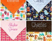 Toddler Bed Blanket, Custom Personalized Blankets, for Toddler Boy,  Monogram Minky Blanket with Name, for Baby Girls - Design Your Own