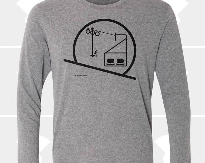 Featured listing image: Sunrise / Sunset Chairlift - Unisex Long Sleeve Shirt