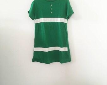 KIDS! 60's Jolly Green LIttle Girl Dress