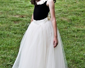 leotard top, black leotard with champagne flowers, tutu top, tutu dress