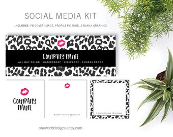 Leopard Kiss LipSense - Social Media Kit