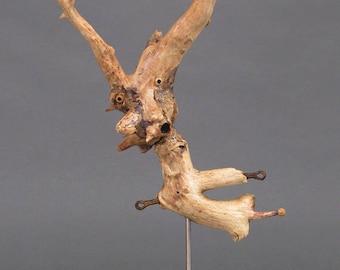 Driftwood Sculpture, Wood Sculpture - Sorgus