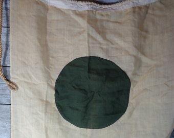 vintage Nautical Maritime Signal Flag letter I India Naval Military