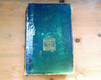 Antique Encyclopedia, Enquire Within For Everything 1892 . 96th Edition . Victorian lifestyle book . Ninety sixth edition . Antique book
